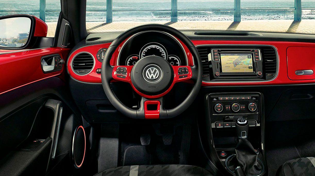 Nuevo Volkswagen The Beetle Cabrio Diseño Interior