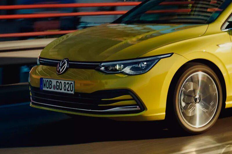 Volkswagen Golf 8 diseño exterior